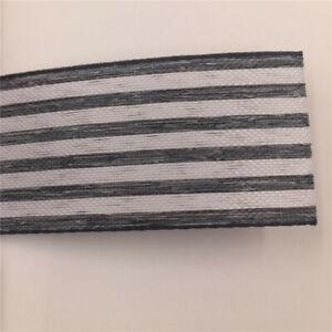 25MM X 100yards Natural Hemp Jute Burlap Striped Ribbon