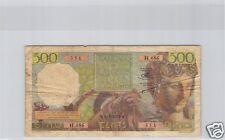 ALGERIE 500 FRANCS 2.5.1952 ALPHABET H.486 PICK.106 !!!!!