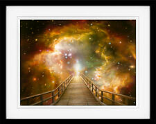 Akiane Kramarik - The Light 12x18 Archival Double Matted Paper