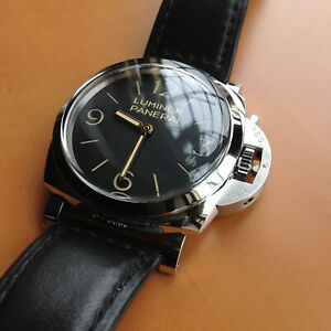 Panerai Luminor Men's Black Watch - PAM00372