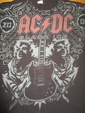"""Ac Dc """"Black Ice"""" (Med) T-Shirt Angus Young"""