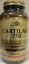 SOLGAR CARTILAGE 750 cartilagine Di Squalo 180 capsule Vegetali