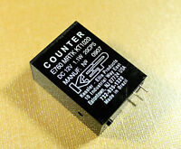 Arcade Game or Pinball Coin Meter Counter 7 Digit