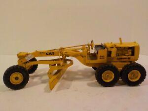 N Vintage 1960s Caterpillar No.12 Motor Grader ERTL 1:24 Diecast Tractor Vehicle