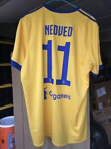 Nike Pavel Nedved 17-18 XL Juventus Away Shirt Jersey Maillot Kit Camiseta NWT