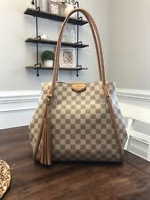 Louis Vuitton Propriano Damier Azur Canvas Tote Dust bag Included W/tags