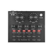 Mixer audio esterno Scheda audio Interfaccia audio USB con effetti sonori C2Z8