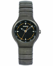 RADO TRUE BLACK CERAMIC QUARTZ LADIES WATCH R27676152 MSRP: $1,200 NO RESERVE