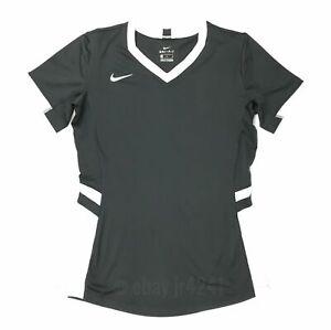 Nike Hyperace Short Sleeve Jersey Women's Medium Grey Volleyball Shirt 846322