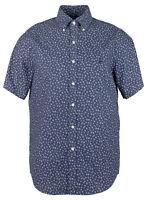 Polo Ralph Lauren Men's Big and Tall  Floral Short Sleeves Shirt-BLU-XLT