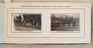 DEPOSITO ALLEVAMENTO CAVALLI MILITARI FOSSANO 1915 ALBUM 38 FOTO PRIGIONIERI