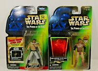 Star Wars POTF Action figures Kenner 2 Lando Calrissian Skiff Guard&General's
