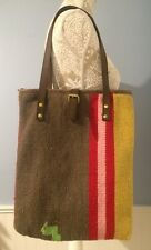 "RAJ Anthropology ""Carpet Bag"" Hand bag Shoulder bag Purse Cross body Messenger"
