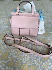 NWT Tory Burch T top handle MINI Crossbody Handbag Satchel Shell Pink 36777 $298
