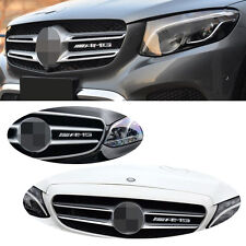 1 Pcs High Quality Silver Chrome Alloy Grill Badge Emblems Decals All Type S86