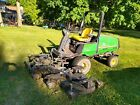 "2000 John Deere 1620 90"" cut Articulated Diesel 4x4 lawn mower tractor"