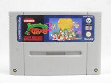 SNES Super Nintendo lemmings 2 las tribus CARTUCHO PAL