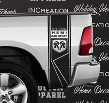 Dodge Ram Decal 1500 2500 3500 Sticker Bed side stripes Hemi Rumble Bee DS006D