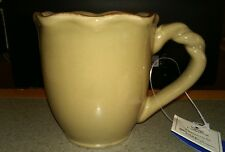 "PARK DESIGNS ""VILLAGE COLLECTION"" NWT MUG IN OLIVE GREEN--RETIRED BRAND NEW"