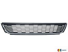 NEW GENUINE VW POLO 2010-2014 FRONT BUMPER LOWER GRILL BLACK WITH CHROME TRIM