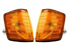 Front Left & Right Genuine Turn Signal Lights Lamps Pair Set For Mercedes W201