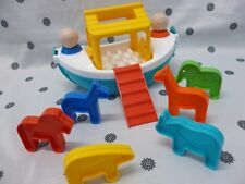 Tupperware Kids Noah's Ark 15 Piece Toy Boat New
