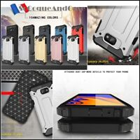 Etui Coque housse Antichoc Shockproof Hybride Case Samsung Galaxy J4+ J6+ (plus)