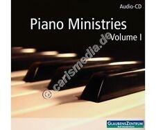 CD: PIANO MINISTRIES Vol. 1 - Instrumental - Glaubenszentrum Bad Gandersheim