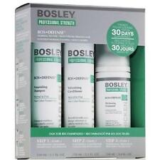 Bosley Defense Starter Set (Normal to Fine) Non- Color-Treated Hair