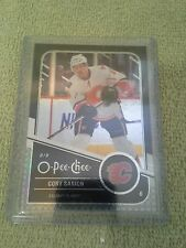 2011-12 O-Pee-Chee Cory Sarich Black Rainbow #d/100 Calgary Flames