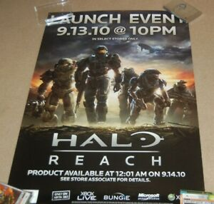 Halo Reach Launch Event Poster