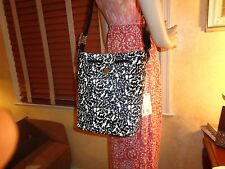 NWT TORY BURCH BRODY SPOTTED  Print Calf Hair Bucket Tote $550 DustBag