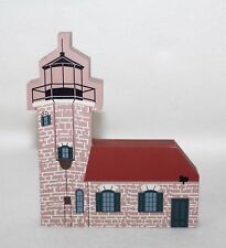 "1994 Faline Cat's Meow ""Sand Island Lighthouse� Shelf Sitter Signed"