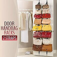 Adjustable Bag Rack organizer hook holder over the door bag racks
