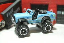 Matchbox International Scout 4x4 Truck - Blue - Loose - 1:64
