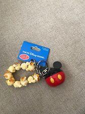 New listing Tokyo Disney Resort Mickey Mouse Popcorn Key Chain Japan Exclusive