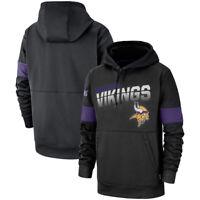 NFL Minnesota Vikings Hoodies Sweatshirts 100th Anniversary Pullover Jacket Coat