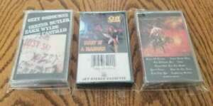 Ozzy Osbourne cassette tapes Ultimate Sin, Diary of a Madman Just Say Ozzy lot 3