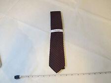 Calvin Klein CK Graphite Glitter Stripe Tie Silk Blend necktie Mens menswear NWT