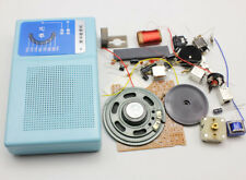 DIY Kits Superheterodyne Radio Receiver 6 Transistor Schematic+case Speaker