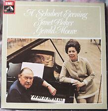 A Schubert Evening - Janet Baker & Gerald Moore; 2xLP Vinyl Box (HMV SLS 812)