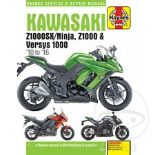 Haynes Repair Manual Kawasaki Z 1000 SX ABS 2011-2016