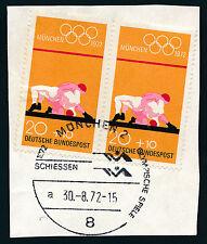 Briefmarken-Ganzsachen aus der BRD mit Sonderstempel