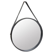50cm Round Inset Design Wall Hanging Mirror Modern Hallway Home Decor Mounted