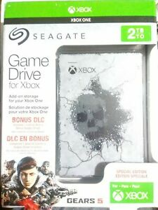 Seagate XBOX Game Drive 2TB USB 3.0 Gears of War 5 Special Edition