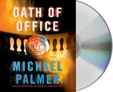 OATH OF OFFICE unabridged audio book on CD by MICHAEL PALMER - Brand New!