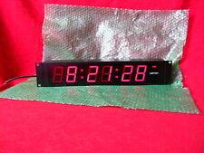 Leitch Dtd-5225-R Studio Digital Clock