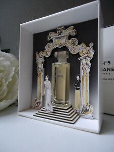 CHANEL No5 5ml EAU PREMIERE Miniature Stunning Catwalk Runway Display Case Mint