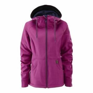 New WESTBEACH Womens Pink Jenni Softshell Ski Coat Winter All Sizes