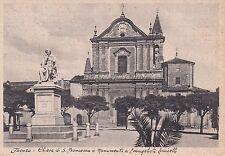 FAENZA - Chiesa di S. Francesco e Monumento a Evangelista Torricelli